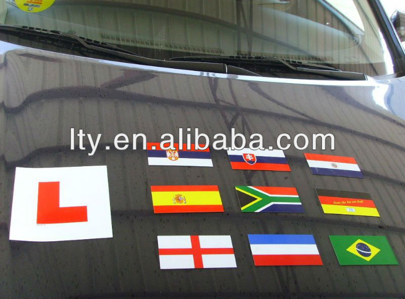 wholesale national flag sticker for car (M-A40)