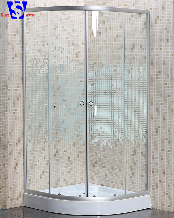 SW-226D custom made 2 side glass shower enclosure for sale philippines