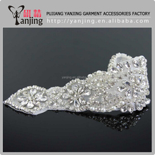 Wholesale factory price rhinestone sew on patches
