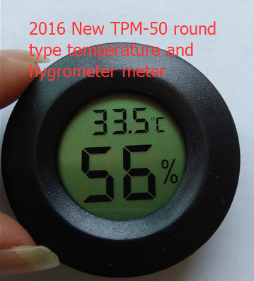 TPM-50 LCD Electronic Digital Temperature Hygrometer