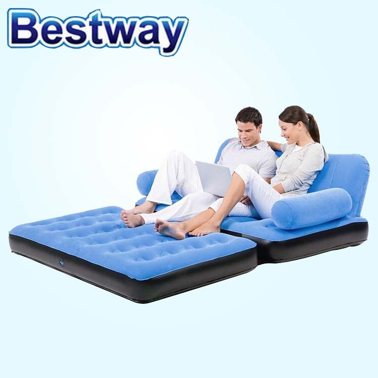 BESTWAY Multi-Max Inflatable queen Air sectional Couch Lounger Mat sofa