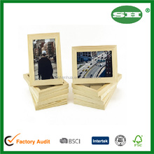 Unfinished Solid Wood Photo Picture Frames 4x6 Inch Ready to Paint for DIY Projects