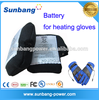 Wholesale 7.4v 2600mah 2200mAh 2000mah lipo rechargeable battery Heating Ski Gloves/winter gloves/warm jacket