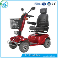 4 wheel cool electric mobility scooter for elder