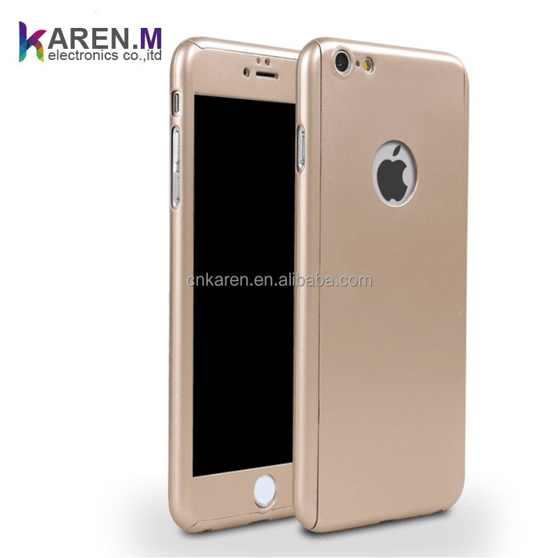 2017 360 Degree Full Coverage Protective Case For iPhone 6 / 6S