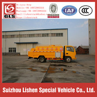 High Performance 3.8 cbm Dongfeng DFAC High Pressure Cleaning Water Truck Hot Sale Water Tank Sprinkle Transportation