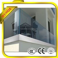 LT Low Price Standard Cut to Size Balcony Tempered Glass 8mm 10mm 12mm Australian Standard Glass
