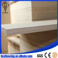 2 Sides 3/4'' Birch Hardwood Plywood with 7-Ply Veneer Core to USA Market
