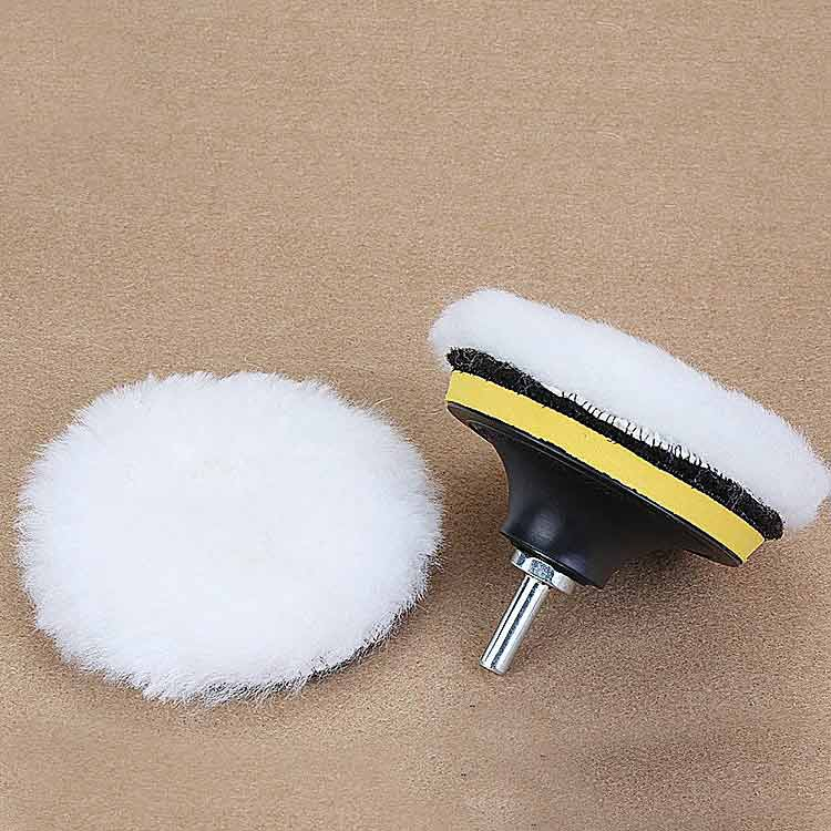 "factory price diameter 3""super quality car polishing pad lamb wool polishing pad"