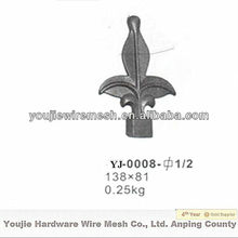 wrought iron forged spears ( factory &ISO9001)