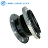 Forging type galvanized flanged epdm vacuum bellows rubber expansion joint