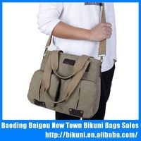New trendy ladies large college bags new multifunction lady canvas shoulder bag supplier