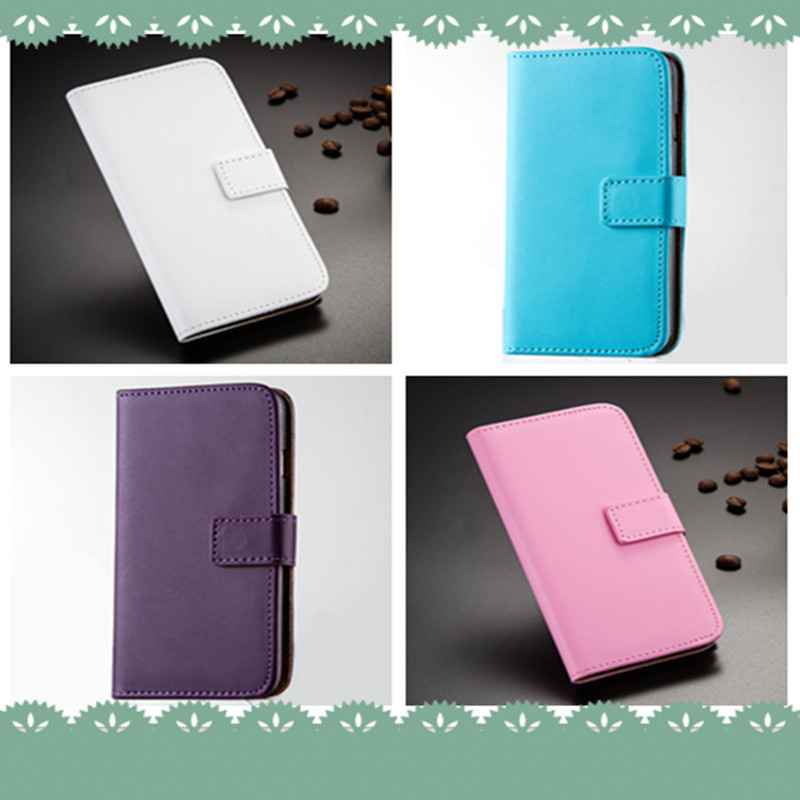 Magnetic PU Leather Slot Wallet Cover Stand Flip Case for Lenovo A880 A620 A500 A520 A850 A820 S850
