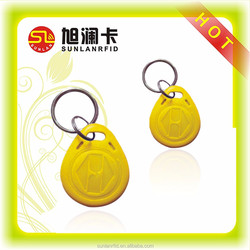professional manufacturer ABS hotel key fob with hole for ring