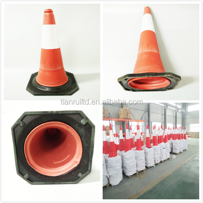 High Quality Flashing Traffic Cone Road Safety Cone