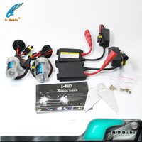 High Quality Energy saving with slim ballast 35W 55w h4 h7 hid xenon kit