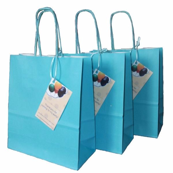 OEM Custom Design Cheap White Kraft Paper Bag for Shopping hot sale