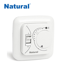 Warm indoor temperature regulation controller NTL-6000C heated floor system,hvac,room thermostat for heating