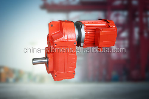 Taiwan TECO Crane China parallel shaft BF87 Speed Reducer geared motor