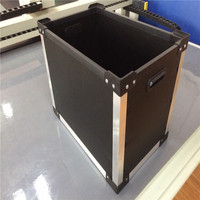handles corrugated boxes with pp material
