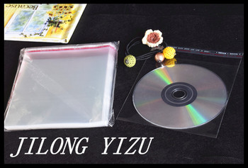 Clear Resealable Cellophane OPP Bags 12*16cm Transparent Poly Bag Packing Plastic Bags for CD DVD Self Adhesive Seal