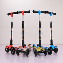 alibaba china factory best quality 3 wheel kids scooter / cheap pedal skate scooter for baby / children kick scooter for sale