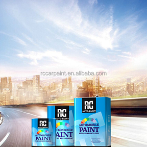 Paint Shop Finish System Auto Refinish Paint Clear Coat