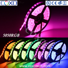 2017 High Brightness 12 Volt SMD 50 50 Multicolor RGB Led Strip