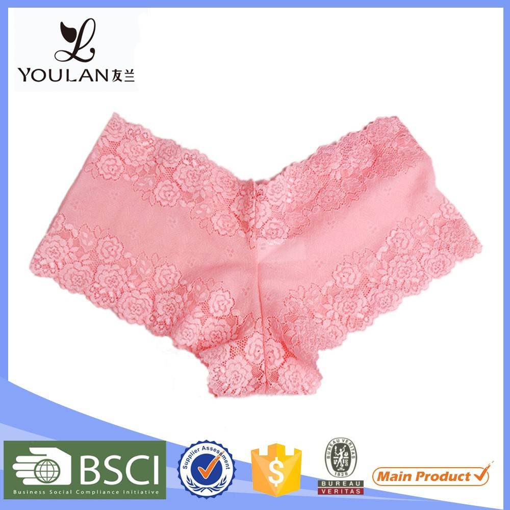 Bottom Price Fashionable Young Girl Polyester Sweet Sexy Girls Preteen Underwear