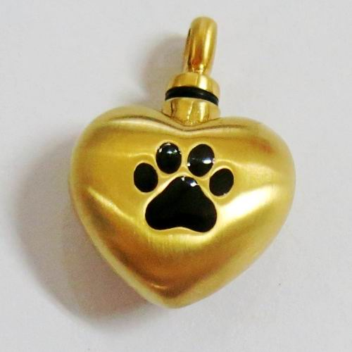 Cremation Jewelry PET Ash Pendant