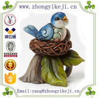 chinese factory custom made handmade carved resin miniature animals