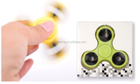 Tri Spinner Fidget and Floating ball toy with high speed full fidget spinner toy
