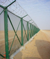 Alibaba China chain link fence with barbed wire