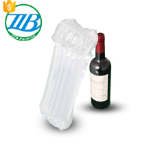 China supplier customs Glass wine bottle clear protective air column bag professional manufacturer