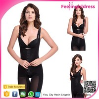Paypal Accepted 3 Colors Black Lace Belly Slim Body Shaper Suit for Women Leg Slimming