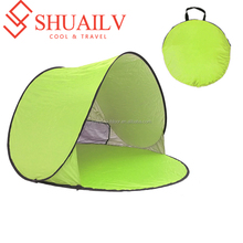 Ultra Light Portable Sunscreen Beach Tents Inside Coating Polyester Outdoor Tents Bottom Oxford Camping Tents