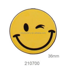 DIY Custom printed laser cut acrylic emoji Charms Wholesale