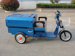 48V 500W Chinese electric garbage tricycle