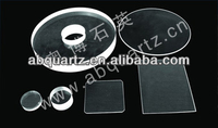 Stable Performance ultraviolet device use quartz plate or Polished Quartz Disc