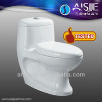 China Sanitary ware One Piece Washdown Toilets With Built-In Bidet A3116