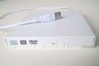 External DVD-RW Burner For ASUS Eee PC 8G 12G 20G white