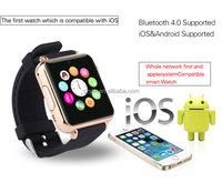 2015Hot sales bluetooth4.0 touch screen smart watch support IOS phone and Android phone(SW020A)