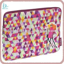 Sublimation design neoprene sleeve for new ipad