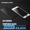 2017 Wholesale 3D Curved edge 0.2mm 9H Anti burst mobile screen protector tempered glassr for iphone7/7 plus