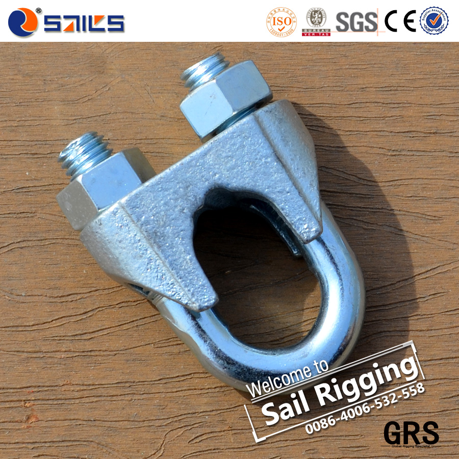 fasteners galvanized casted wire rope clip din 741