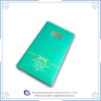 Bright blue socks packaging box for sales