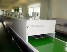 Water transfer printing hydrographic drying base primer paint and top clear coat machine