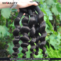 Wholesale Price Best Deal For Bulk Order No Tangle Unprocessed indian virgin miss rola hair extensions