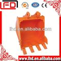 Volvo spare parts large excavator rock bucket with high quality