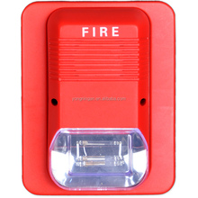 Good Quality Addressable Fire Alarm Strobe Siren 2 wire LED Warning Lights With Three Kinds Sound Alarm Optional